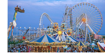 The Wildwood Boardwalk - Walking Distance To Most North Wildwood Rentals